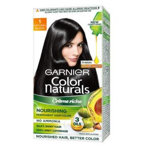 garnier hair colour black